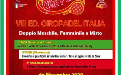 """TORNEO """"GIRO PADEL"""" dal 23 novembre all'ISLAND FUN VILLAGE"""