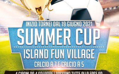 SUMMERCUP 2021: torneo calcio a 5 e calcio a 7