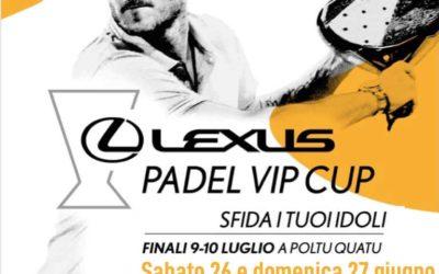 LEXUS PADEL VIP CUP: una tappa all'ISLAND FUN VILLAGE!